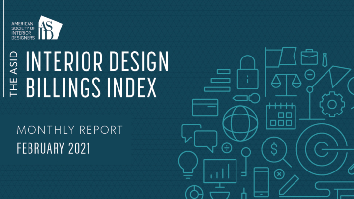 ASID Interior Design Billings Index (IDBI) - February 2021